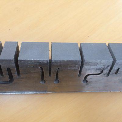 DMLS insert, koeling dicht tegen oppervlakte