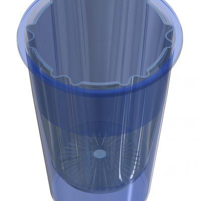 Design en ontwerp van: pot, binnenpot, bodeminzet en deksel