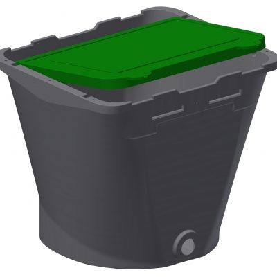 Design of Bucket and Lid