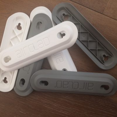 Single mold cover plate